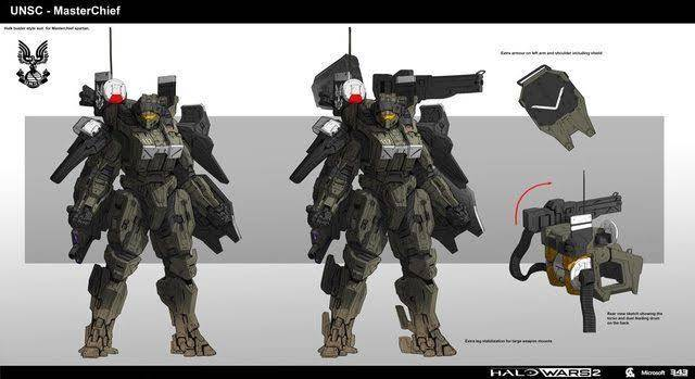 Image of: Master chief exo suit