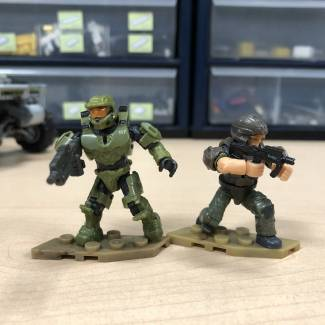 Closer Look: New Master Chief (Warthog Version)!