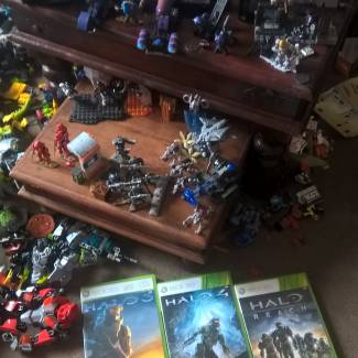 Image of: My halo collection