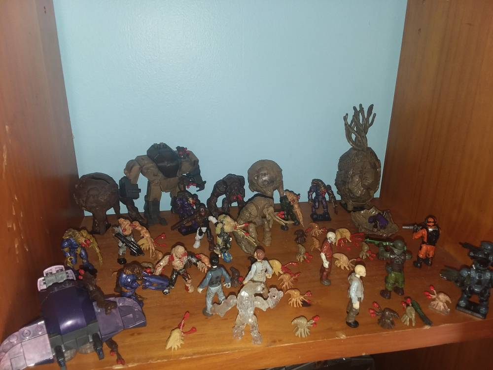 My flood collection.