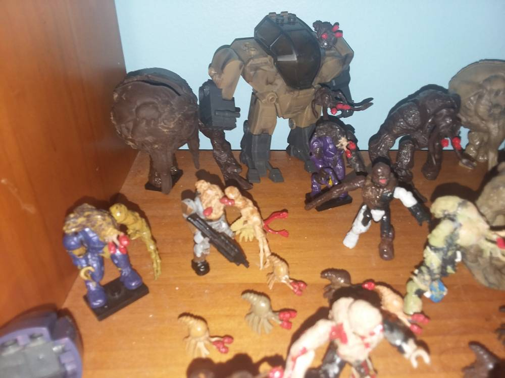 Image of: My flood collection.