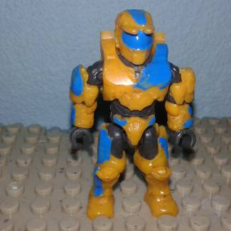 Image of: Sindrome Down Spartan skin ( Exclusive figure i will sell)