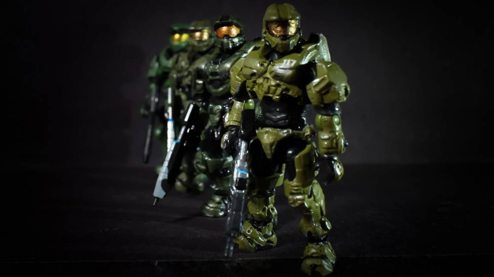 Image of: Máster chief Halo 3