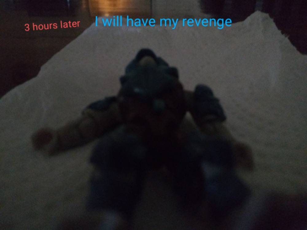 Image of: He will have his revenge