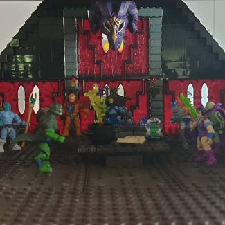 Image of: Skeletor's Stronghold version 2 part 2