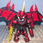 Image of: Destoroyah 2.0 based spartan figure ( Godzilla vs Destoroyah 1995)