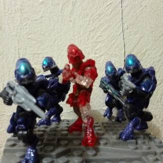 Image of: Covenant Zealot 7th Army 1st Ranger Lance