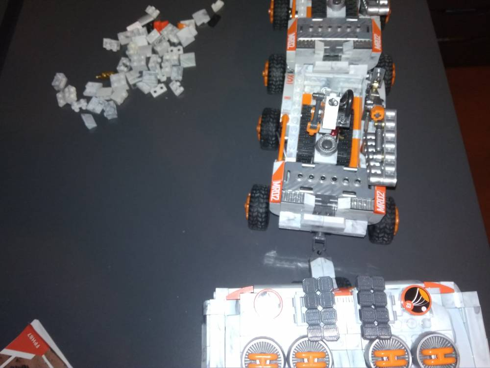 Image of: Mars rover- ultimate edition