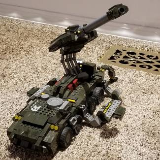 Image of: Mobile artillery modification