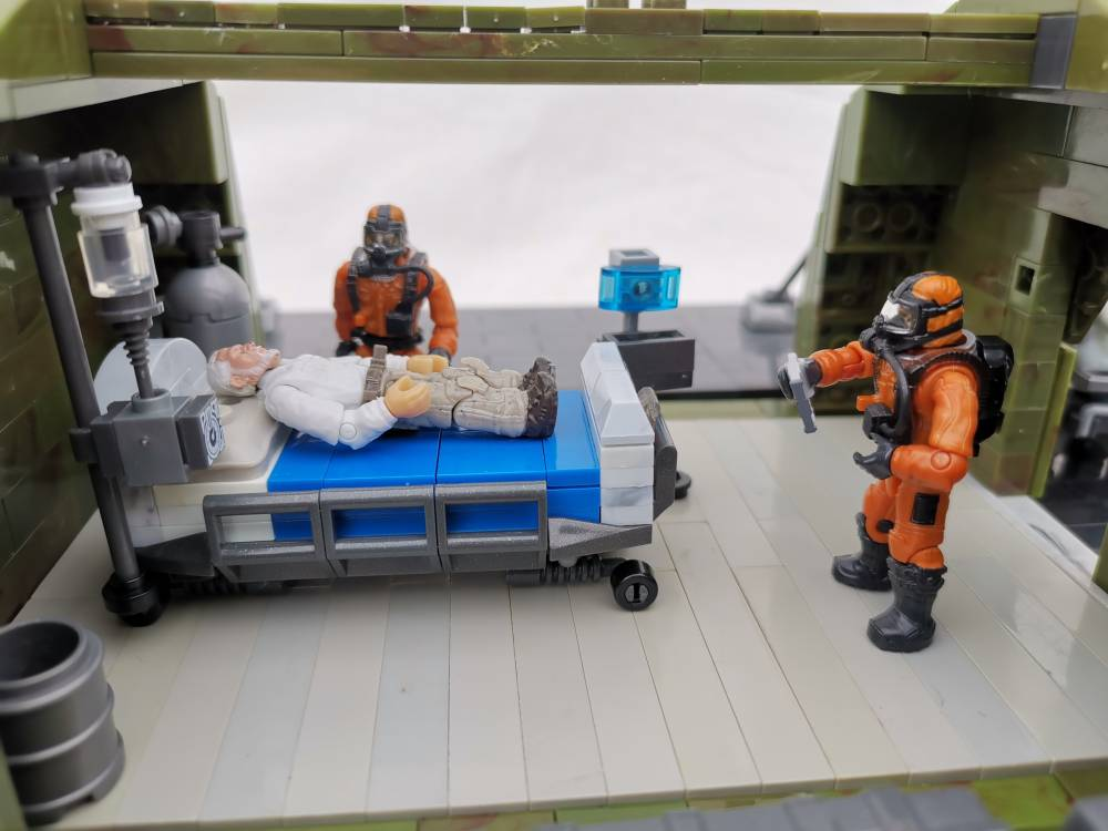 Image of: Covid 19 field hospital