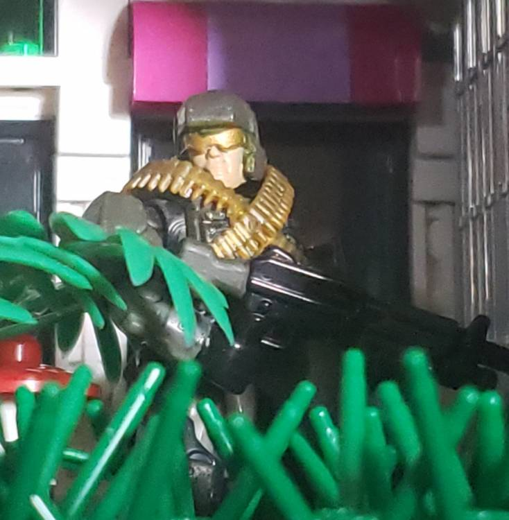 Image of: Patrolling lost territory
