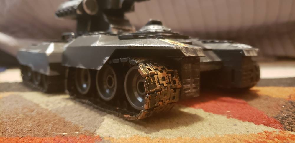 Image of: New scorpion tracks work for static builds for the older scorpions
