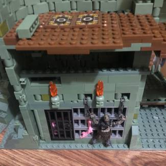 Image of: Some internal upgrade to castle greyskull still work in progress