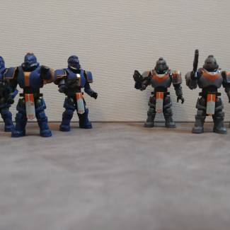 Image of: Custom WH40K Space Marines