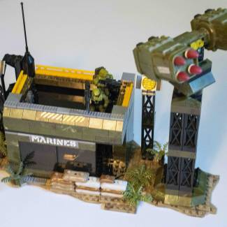 Image of: Building From Home: UNSC Defense Point