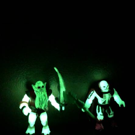 Glow in dark demo man