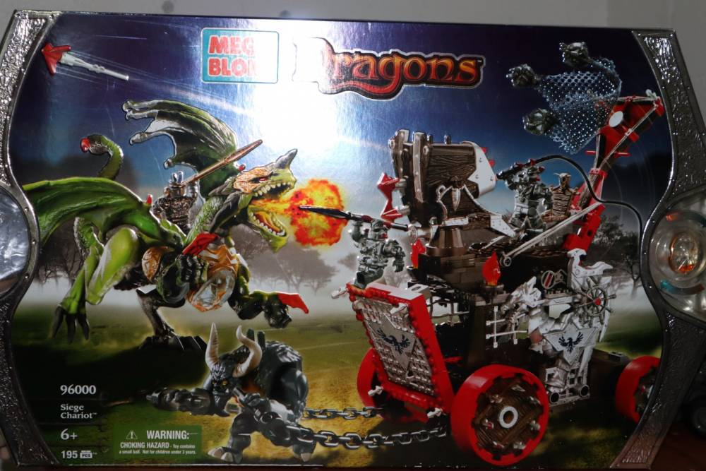 REVIEW: 96000 - Dragons Siege Chariot