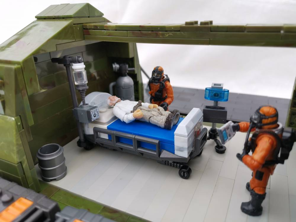 Image of: Covid 19 field hospital update
