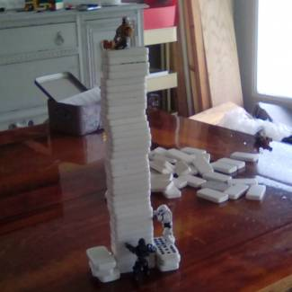 Image of: Fun with Dominos 1