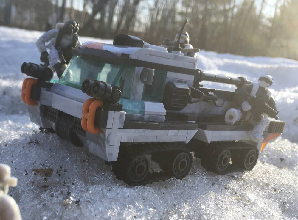 """Arctic """"Weasel"""" Tracked Vehicle"""