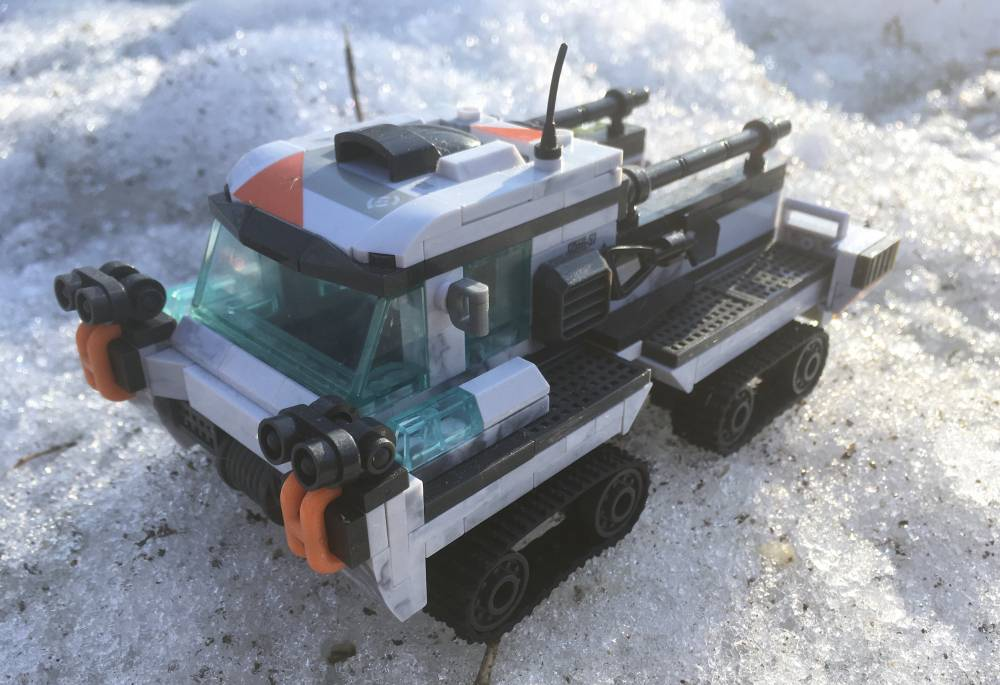 "Image of: Arctic ""Weasel"" Tracked Vehicle"