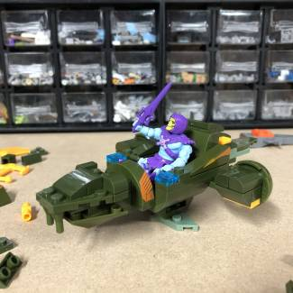 Image of: Mega at Home Building Idea #6: Skeletor's SEA SERPENT