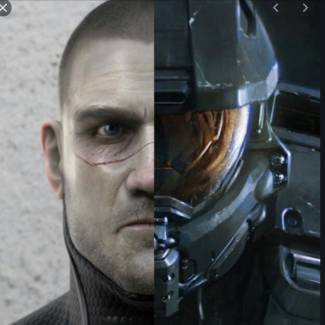 Image of: Master chiefs face!! Custom face
