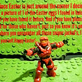 Image of: Halo Easter egg!
