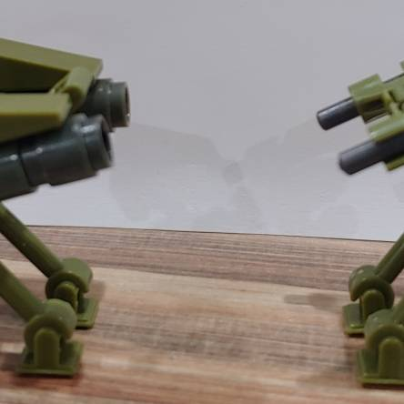 Portable automated weapons platforms