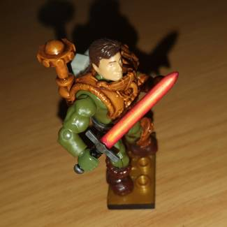 Image of: Custom Man-At-Arms with Fire Weapons (ft. Nathan Fillion)