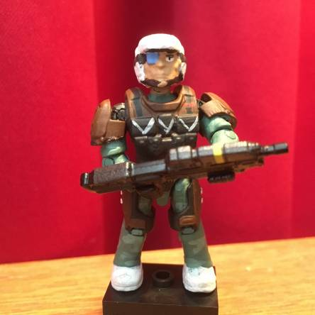 Halo Reach - Super Poseable Trooper Custom