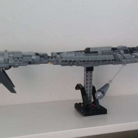 Halo covenant cruiser
