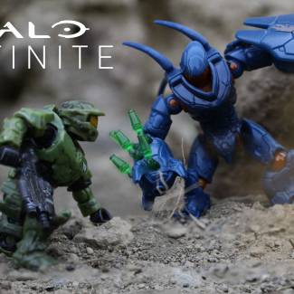 Master Chief vs Hunter in HALO INFINITE!