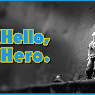 Image of: Hello, hero.  - Mega Construx Masters of the Universe Series 1 He-Man
