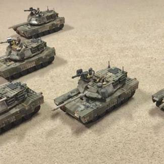 Image of: Armored Formation