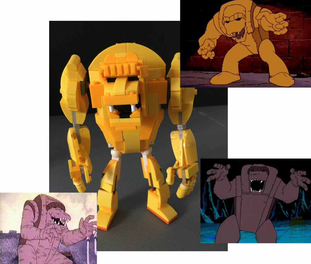 Image of: Sand Demon (Filmation He-Man)