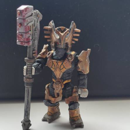 Custom War Chieftan Brute from the Halo 3 Believe trailer. NOT MADE BY ME, READ DESCRIPTION