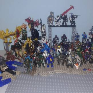 Image of: 1st Year in Mega Construx Gallery!!!