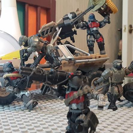 Project line 1: Insurrectionist ODST part 1