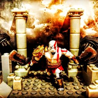 Image of: kratos god of war