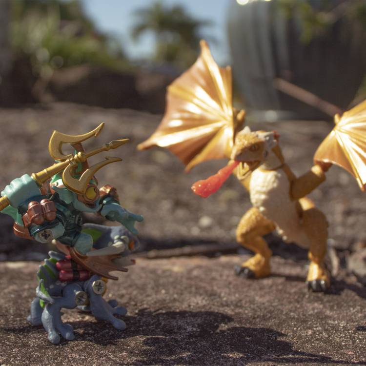 Image of: The 2 Water Davids vs. The 3 Wyvern Goliaths