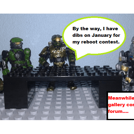 Gallery Forum Contest funny moments: Organizing people and events
