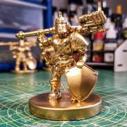 24 carat gold MCX custom Gladiator figure, how cool would this be if it was real, or is it real?