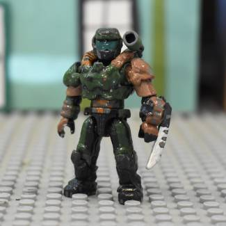 Image of: Custom Doom Slayer