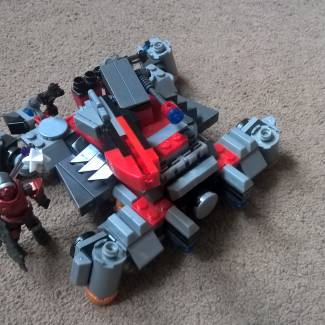 Image of: Ravager tank BR4
