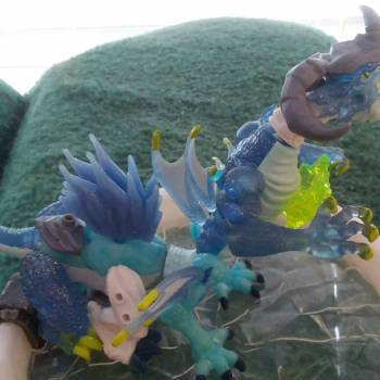 """""""Water and Ice Fusion Dragon: Hydrosnarl"""""""