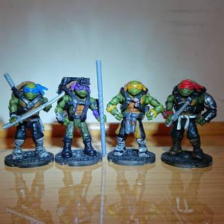 Image of: Teenage Mutant Ninja Turtles Out of the Shadows - custom painted