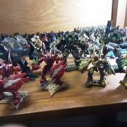 mech suits and heavy walkers