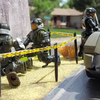 Image of: Military police investigation