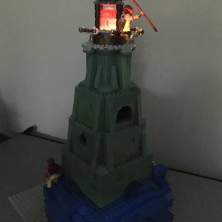 Image of: The Lighthouse on Grayskull Harbor
